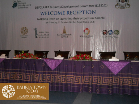 Bahria Town Karachi Reception By DEFCLAREA Business Development Committee (D.B.D.C.) (1)