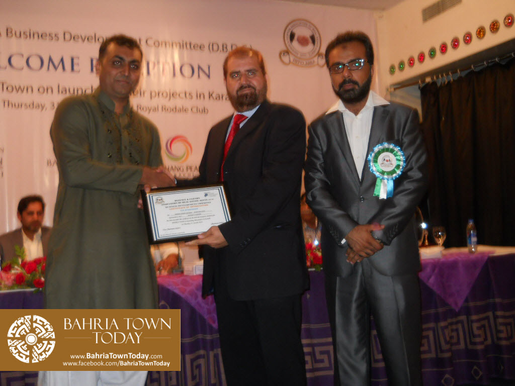 Bahria Town Karachi Reception By DEFCLAREA Business Development Committee (D.B.D.C.) (29)