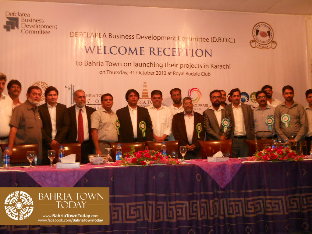 Bahria Town Karachi Reception By DEFCLAREA Business Development Committee (D.B.D.C.) (42)