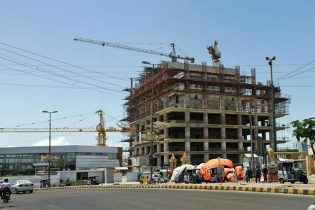 Bahria Town Icon Karachi Latest Progress Update - November 2013 (3)