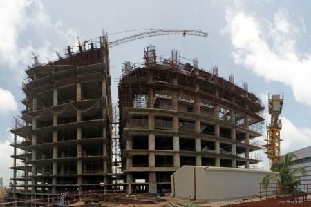 Bahria Town Icon Karachi Latest Progress Update - November 2013 (4)