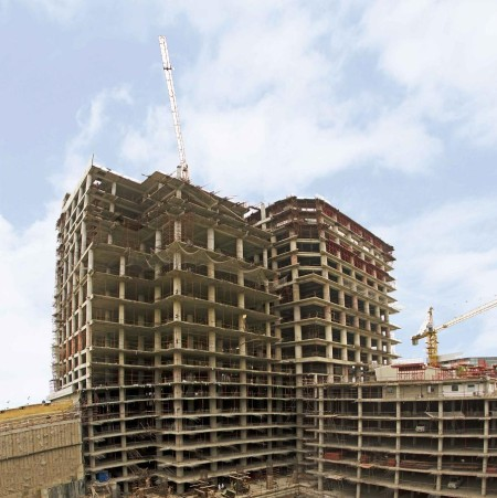 Bahria Town Icon Karachi Latest Progress Update - November 2013 (5)