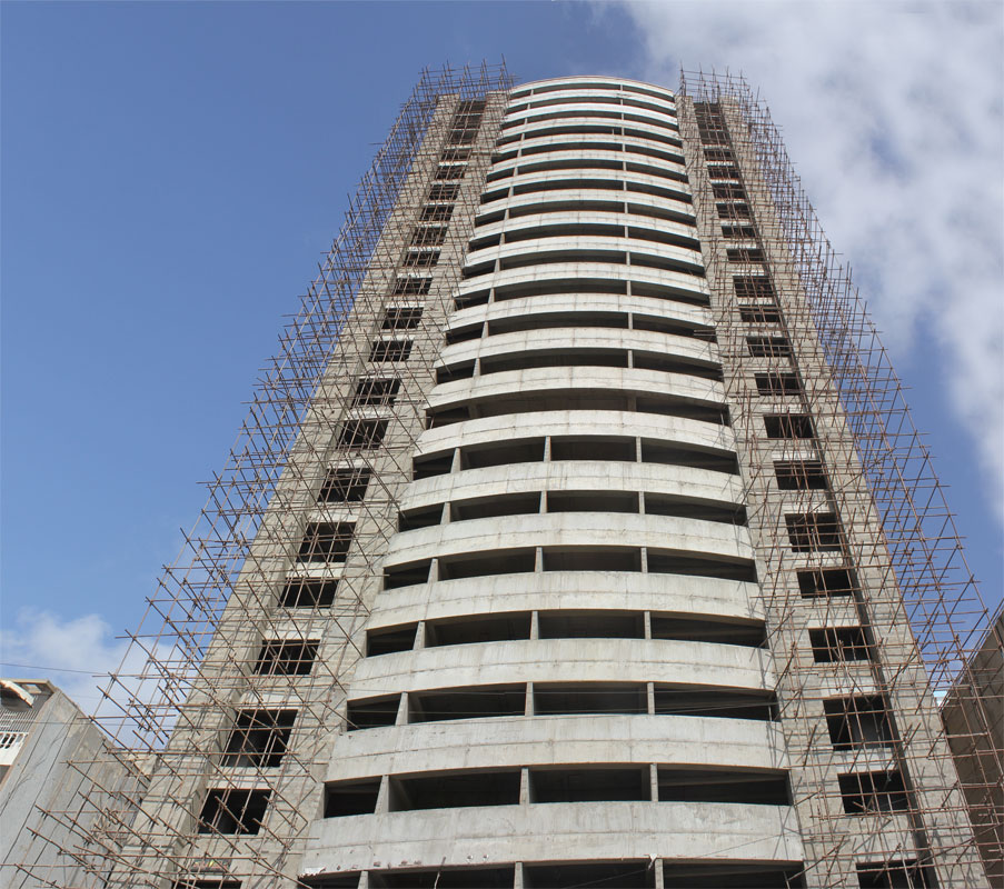 Bahria Town Tower Karachi Latest Progress Update – November 2013 (2)