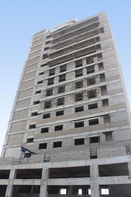 Bahria Town Tower Karachi Latest Progress Update - November 2013 (3)
