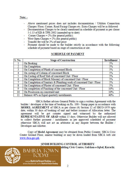 Bahria Town Tower Karachi - Approved Building Plan by Sindh Building Control Authority (SBCA) (2)
