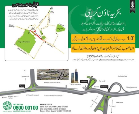 Two High-Tech Underpasses & a Flyover to be Constructed in Clifton - Bahria Town Karachi
