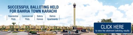 Bahria Town Karachi Balloting Results 2014