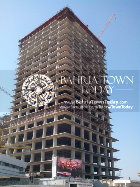 Bahria Town Icon Clifton Karachi Latest Progress Update - April 2014 (1)