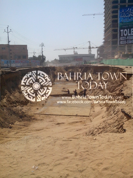 Bahria Town Icon Clifton Karachi Latest Progress Update - April 2014 (3)