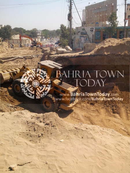 Bahria Town Icon Clifton Karachi Latest Progress Update - April 2014 (4)