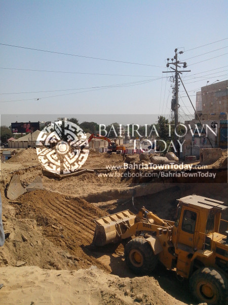 Bahria Town Icon Clifton Karachi Latest Progress Update - April 2014 (5)