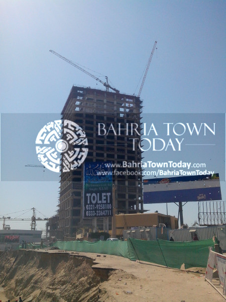 Bahria Town Icon Clifton Karachi Latest Progress Update - April 2014 (6)