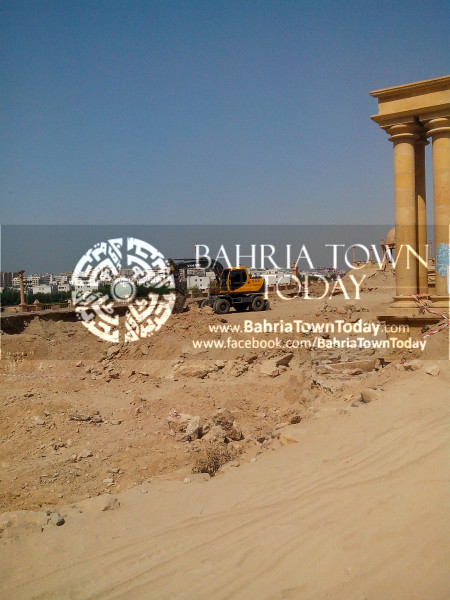 Bahria Town Icon Clifton Karachi Latest Progress Update - April 2014 (7)