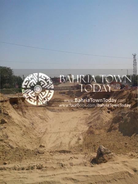Bahria Town Icon Clifton Karachi Latest Progress Update - April 2014 (8)