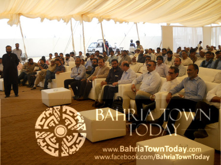 Bahria Town Karachi On-Site Briefing by Ali Riaz Malik (CEO - Bahria Town) (12)