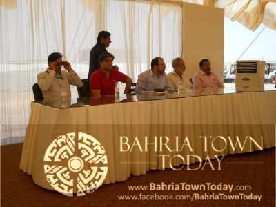 Bahria Town Karachi On-Site Briefing by Ali Riaz Malik (CEO – Bahria Town)