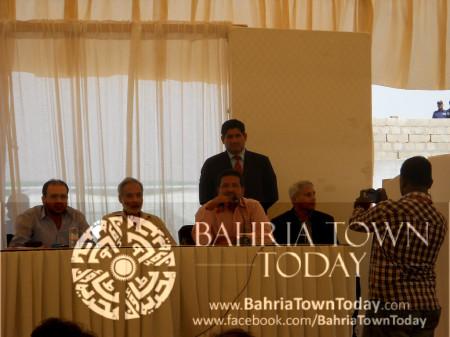 Bahria Town Karachi On-Site Briefing by Ali Riaz Malik (CEO - Bahria Town) (17)