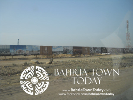Bahria Town Karachi Latest Progress Update - May 2014 (1)