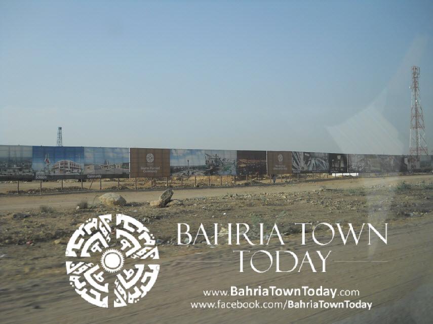 Bahria Town Karachi Latest Progress Update – May 2014 (1)