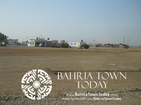 Bahria Town Karachi Latest Progress Update - May 2014 (10)