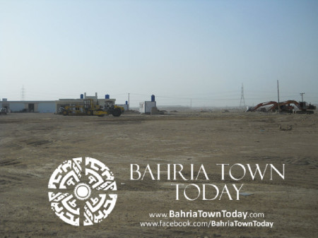 Bahria Town Karachi Latest Progress Update - May 2014 (11)