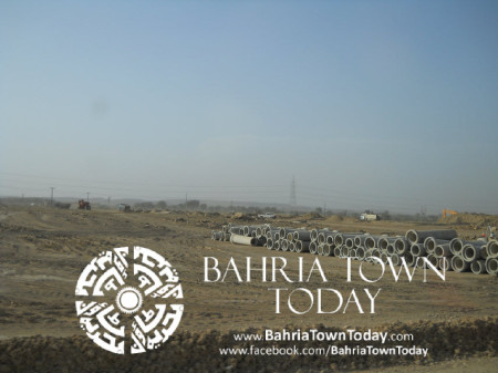 Bahria Town Karachi Latest Progress Update - May 2014 (12)