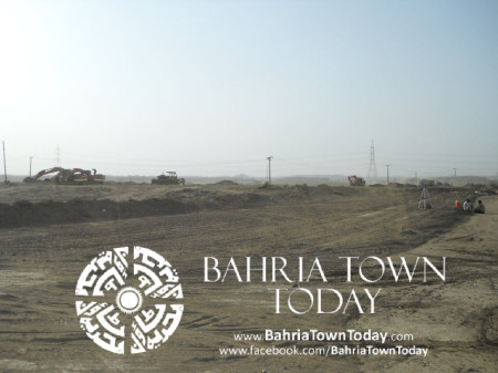 Bahria Town Karachi Latest Progress Update - May 2014 (13)