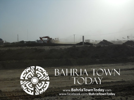 Bahria Town Karachi Latest Progress Update - May 2014 (14)