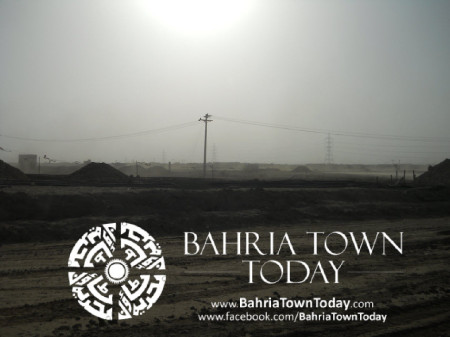 Bahria Town Karachi Latest Progress Update - May 2014 (15)