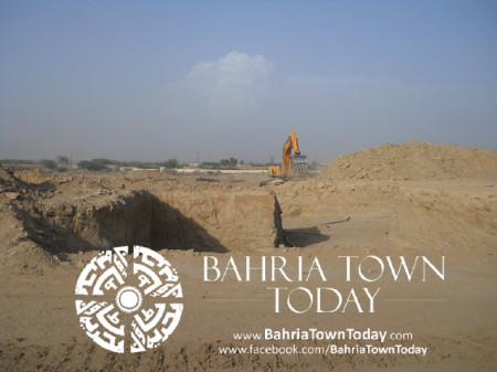 Bahria Town Karachi Latest Progress Update - May 2014 (16)