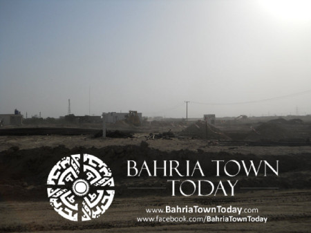 Bahria Town Karachi Latest Progress Update - May 2014 (17)