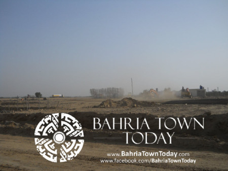 Bahria Town Karachi Latest Progress Update - May 2014 (18)
