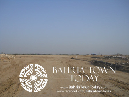 Bahria Town Karachi Latest Progress Update - May 2014 (19)