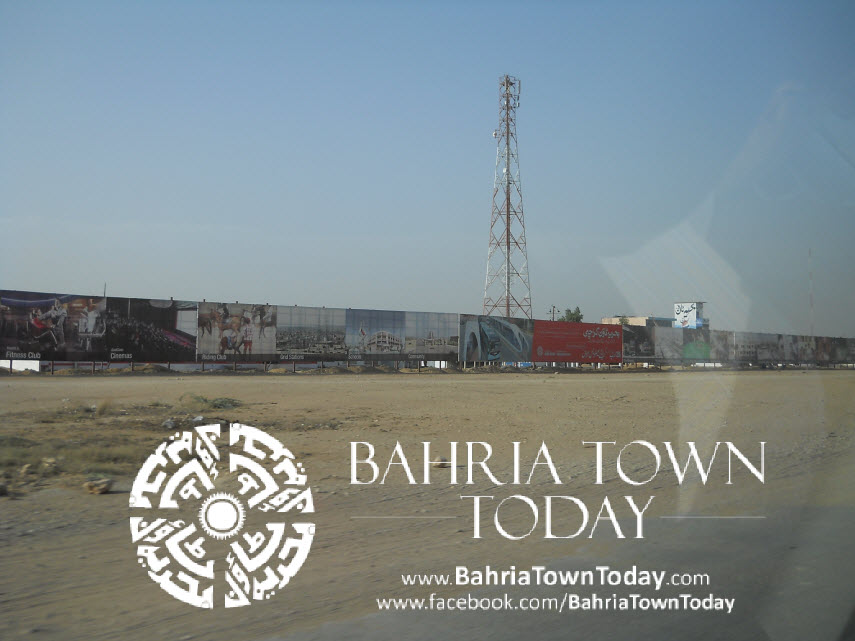 Bahria Town Karachi Latest Progress Update – May 2014 (2)