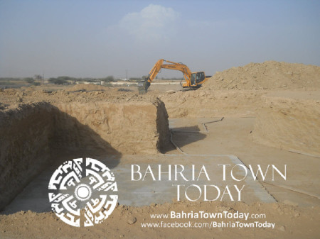 Bahria Town Karachi Latest Progress Update - May 2014 (20)