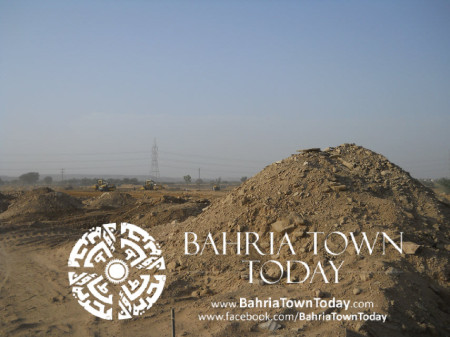 Bahria Town Karachi Latest Progress Update - May 2014 (22)