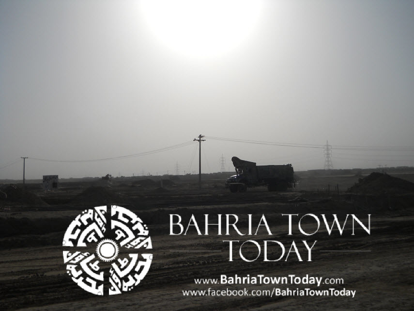 Bahria Town Karachi Latest Progress Update – May 2014 (23)