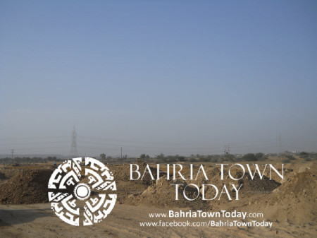 Bahria Town Karachi Latest Progress Update - May 2014 (24)