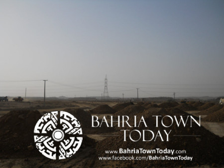 Bahria Town Karachi Latest Progress Update - May 2014 (25)
