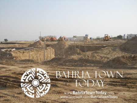 Bahria Town Karachi Latest Progress Update - May 2014 (26)