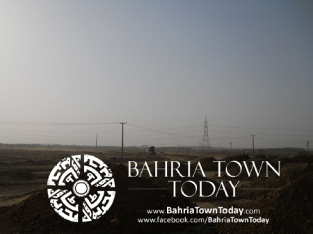 Bahria Town Karachi Latest Progress Update - May 2014 (27)