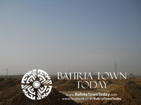 Bahria Town Karachi Latest Progress Update - May 2014 (28)