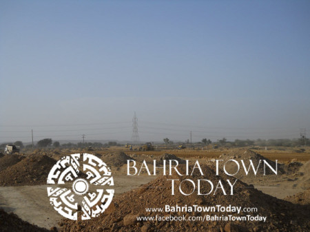 Bahria Town Karachi Latest Progress Update - May 2014 (29)