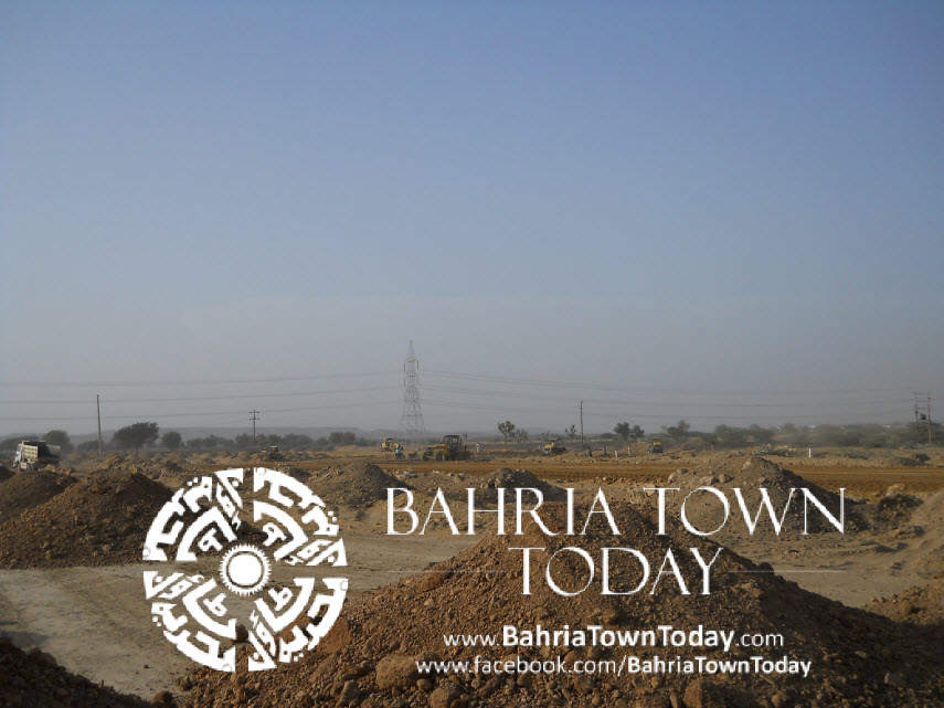 Bahria Town Karachi Latest Progress Update – May 2014 (29)
