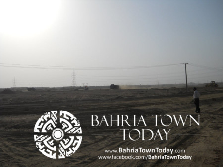 Bahria Town Karachi Latest Progress Update - May 2014 (30)