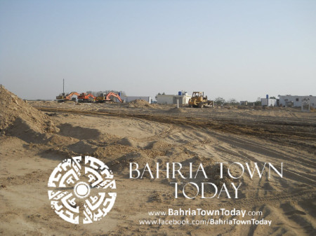 Bahria Town Karachi Latest Progress Update - May 2014 (31)
