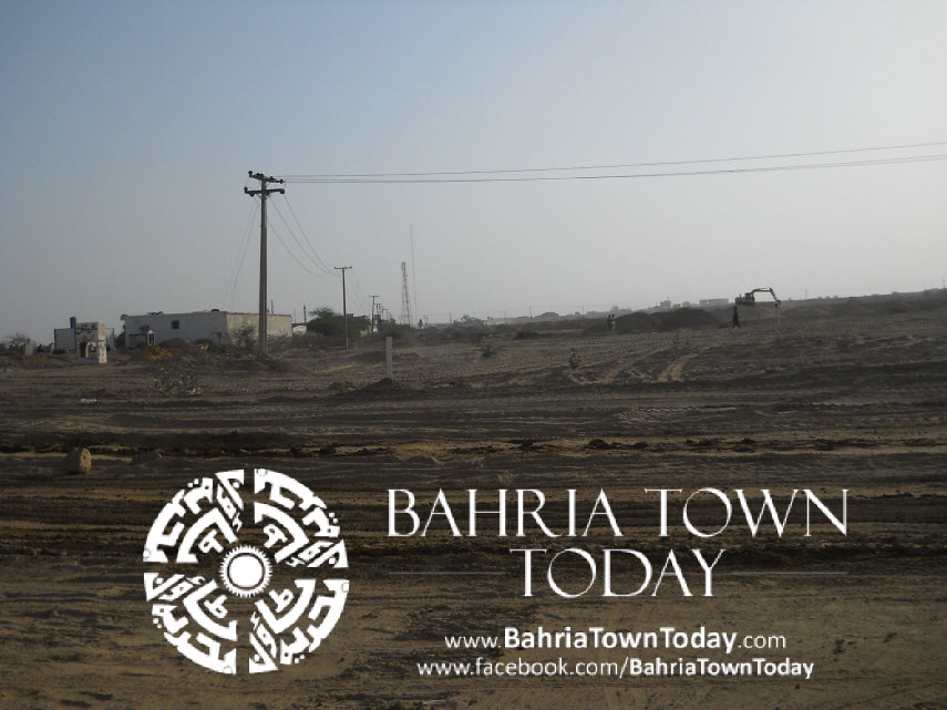 Bahria Town Karachi Latest Progress Update – May 2014 (33)