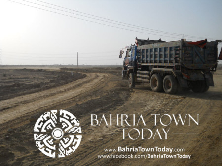 Bahria Town Karachi Latest Progress Update - May 2014 (35)