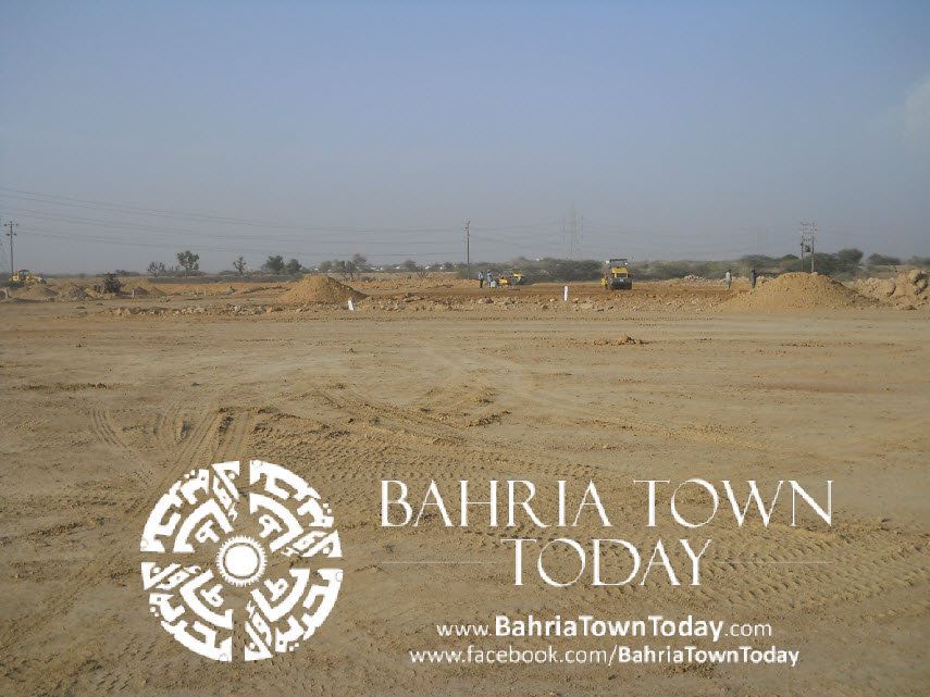 Bahria Town Karachi Latest Progress Update – May 2014 (36)