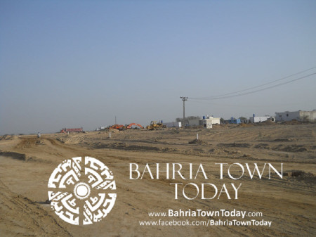 Bahria Town Karachi Latest Progress Update - May 2014 (37)
